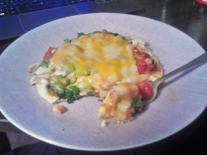 Plate of deliciousness! Nom Nom Nom.
