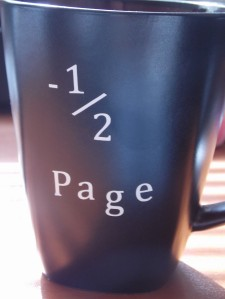 coffee mug for writers